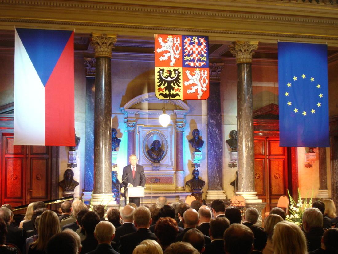 PREZENTACE NAHRÁVKY STÁTNÍ HYMNY 2008